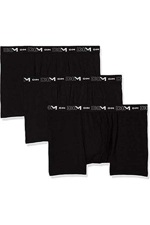 Dim Men's Coton Stretch Boxer X3 Swim Trunks, (Noir/Noir/Noir 0hz)