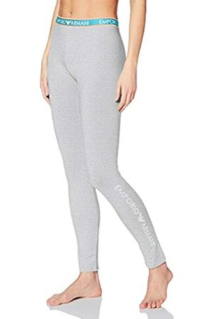 Emporio Armani Women's Visibility-Iconic Logoband Leggings Sports Tights