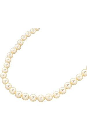 Bijoux pour tous Women Silver Brass Pearl Necklace - 18827