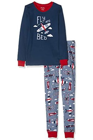 Hatley Boy's Organic Cotton Long Sleeve Appliqué Pyjama Set