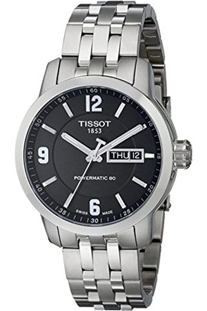 Tissot Men's Analogue Automatic Watch with Stainless Steel Plated Strap T055.430.11.057.00