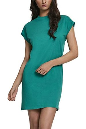 Urban classics Women's Ladies Turtle Extended Shoulder Dress