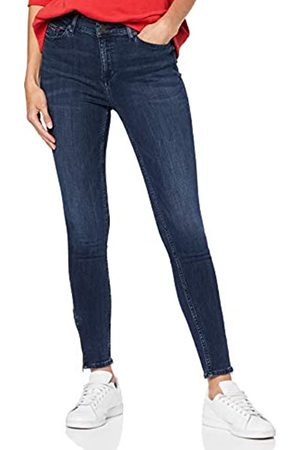 Tommy Hilfiger Women's Mid Rise Skny Nora 7/8 Zip Frsd Straight Jeans