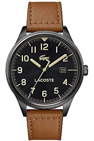 Lacoste Mens Analogue Classic Quartz Watch with Leather Strap 2011021