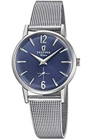 Festina Womens Analogue Classic Quartz Connected Wrist Watch with Stainless Steel Strap F20258/3