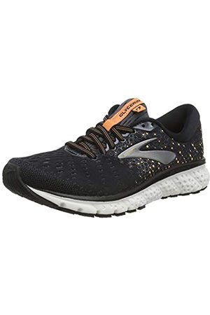 Brooks Women's Glycerin 17 Running Shoe, /Ebony/Cantaloupe