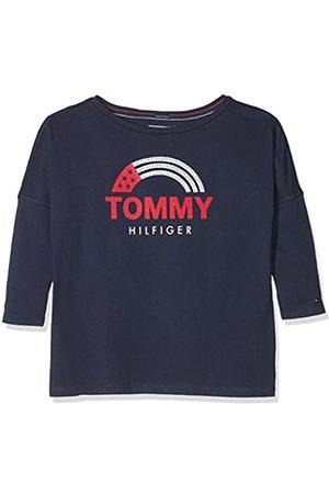 Tommy Hilfiger Girl's Hilfiger Flag 3/4 Tee T-Shirt