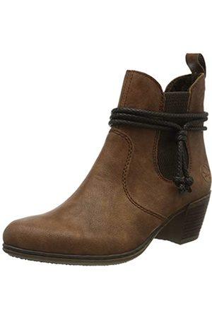 Rieker Women's Herbst/Winter Ankle Boots, (nuss-Antik/ 22)