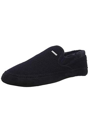 Dark Grey Ted Baker Maten Check Pattern Men/'s Slippers