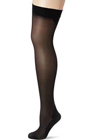 Fiore di Lucia Milano Women's Vanity/Storia Suspender Stockings, 40 DEN