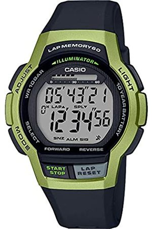 Casio Mens Digital Quartz Watch with Resin Strap WS-1000H-3AVEF