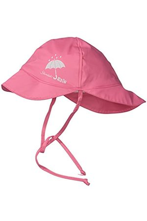 Sterntaler Children's Rain Hat with Neck Guard, Age: 6-9 Months, Size: 45