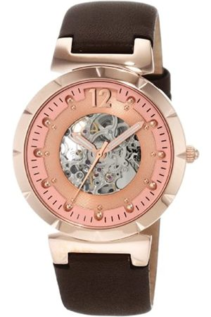 Carlo Monti CM800-305 Savona, Ladies watch, Analogue display, Automatic with Citizen Movement - Water resistant, Stylish leather strap