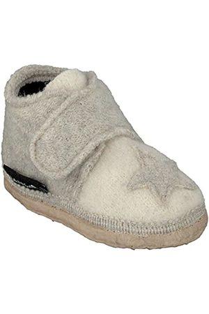 Nanga Stern, Baby Boys' First shoes - house shoes, Blanc - Weiß (winterweiß / 11)