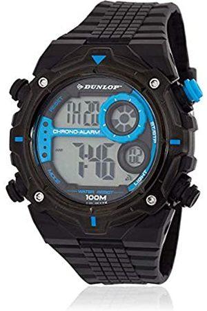 Dunlop Unisex Adult Digital Quartz Watch with Rubber Strap DUN228G03