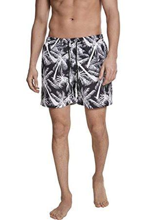 Urban classics Men's Pattern Swim Shorts