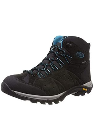 Bruetting Women's Mount Bona High Rise Hiking Shoes, (Anthrazit/Türkis Anthrazit/Türkis)