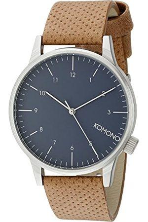 Komono Men's Analogue Quartz Watch with Polyurethane Strap – KOM-W2000