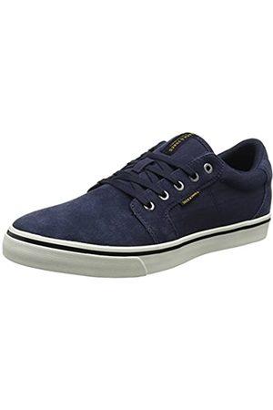 Jack & Jones Men's Jfwdandy Nubuck Low-Top Sneakers, (Navy Blazer)