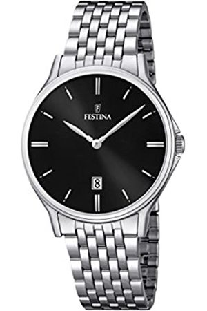 Festina Men's Quartz Watch with Dial Analogue Display and Stainless Steel Bracelet F16744/4