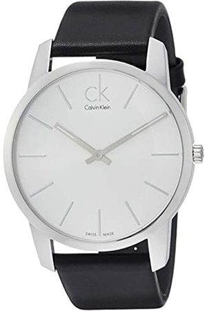 Calvin Klein Men's Quartz Watch with Dial Analogue Display Quartz Leather K2G211 °C6