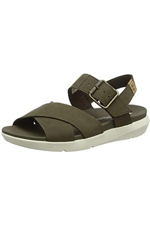 Timberland Women's Wilesport Leather Ankle Strap Sandals