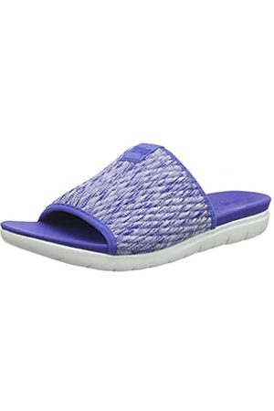 Fitflop Women's Artknit Olivia Pool Slide Open Toe Sandals, (Illusion 671)
