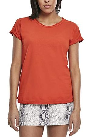 Urban Classics Women's Ladies Pigment Dye Cut Open Tee T-Shirt