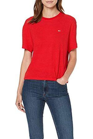 Tommy Jeans Women's Tjw Textured Handfeel Tee Sports Knitwear
