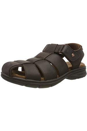 Panama Jack Men's Sauron Open Toe Sandals, (Marron C2)