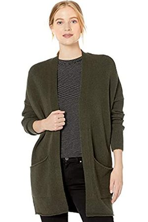 Daily Ritual Cozy Boucle Coatigan Sweater Olive