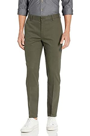 Goodthreads Slim-Fit Wrinkle-Free Dress Chino Pant (Olive)