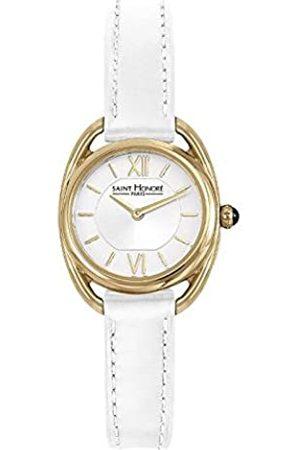 Saint Honore Women's Analogue Quartz Watch with Leather Strap 7210263AIT-W