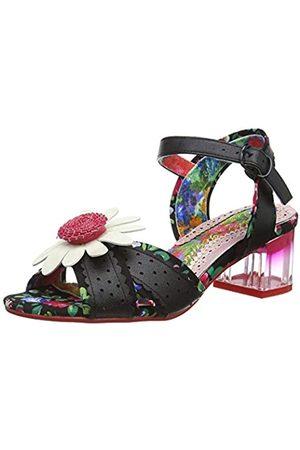 Irregular Choice Women's Variety Girl Ankle Strap Sandals, ( Floral Dark)