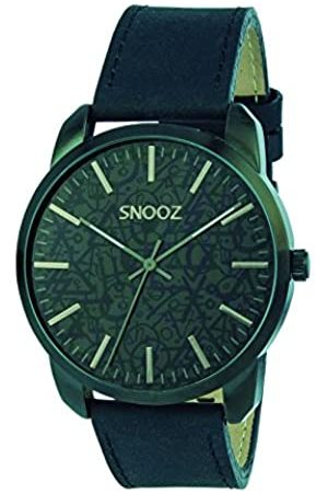 Snooz Men's Analogue Quartz Watch with Leather Strap Saa1044-64