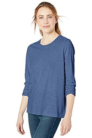 Goodthreads Vintage Cotton Long-sleeve Crewneck T-shirt Deep