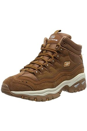 Skechers Women's Energy Ankle Boots, (Chesnut Leather/Mesh Csnt)