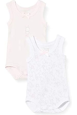 chicco Baby Girls' Set 2 Body Senza Maniche Bodysuit