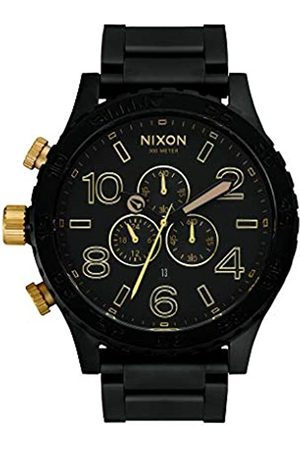 Nixon Unisex Chronograph Quartz Watch with Stainless Steel Strap A083-1041-00