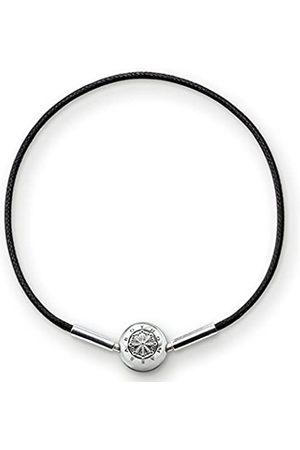Thomas Sabo Women-Bracelet Karma Beads 925 Sterling Silver Length 38 cm KA0003-653-11-L38