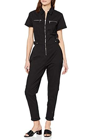 New Look Women's Percy Zip Jumpsuit Wow Jeans