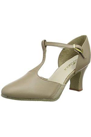 So Danca Women's Ch57 Character Shoes, (Tan)