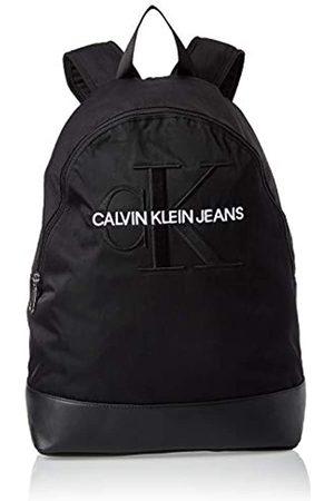 Calvin Klein Monogram Nylon Cp Bp W/o Pocket, Men's Backpack