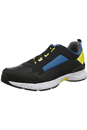 HUGO BOSS Men's Velocity_Runn_rbmx Low-Top Sneakers, (Tourquoise Aqua 440)