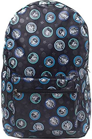 Disney Mickey Mouse All-Over Mickey & Friends Print Grey Kid's Backpack, 41 cm
