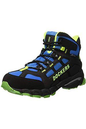 Dockers Unisex Kids' 43dd701 High Rise Hiking Shoes, (Schwarz/Royal 163)