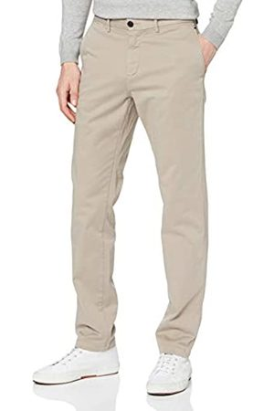 Tommy Hilfiger Herren Denton Th Flex Satin Chino GMD Loose Fit Jeans, Stone