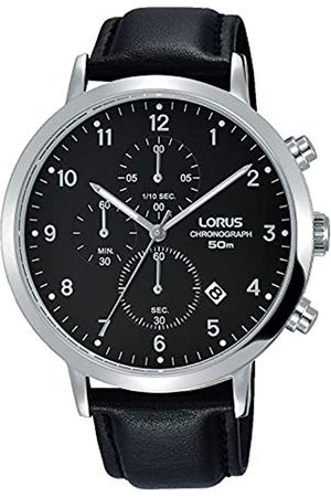 Lorus Men's Analogue Quartz Watch with Leather Strap RM315EX9