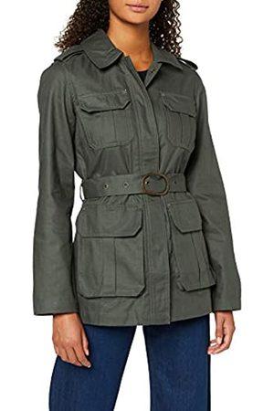 warehouse Women's Utility Belted Jacket