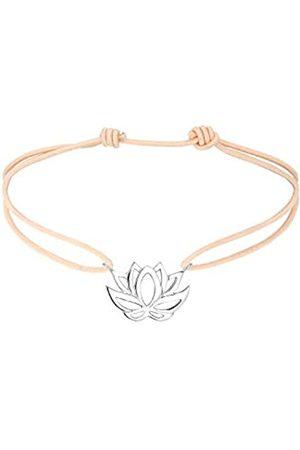 Elli Women's 925 Sterling Silver Xilion Cut Bracelet of Length 17 cm